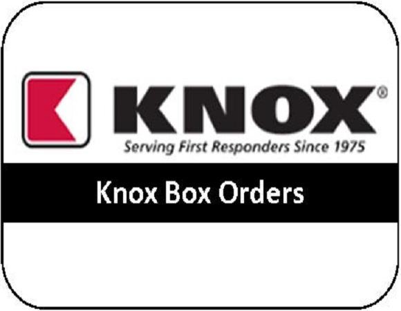 Knox Box Orders