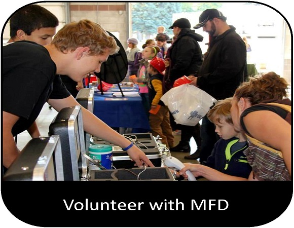 Volunteer with MFD