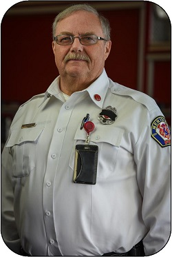 Fire Inspector Kenny Bowers