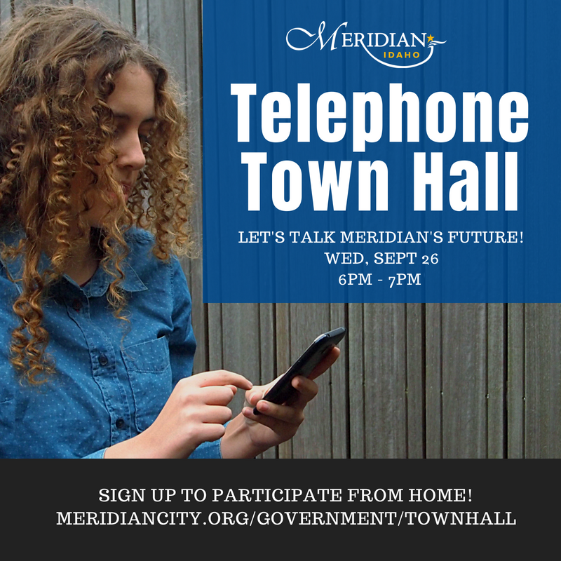 telephone town hall flyer