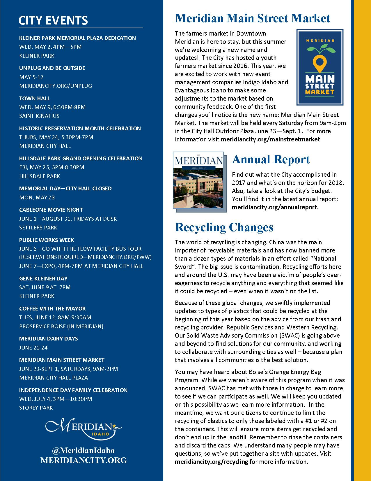 page two of CityNews April-June