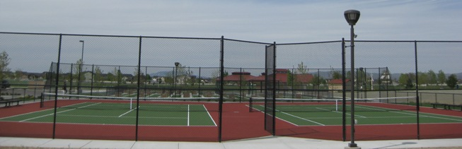 Tennis Courts at Settler's Park
